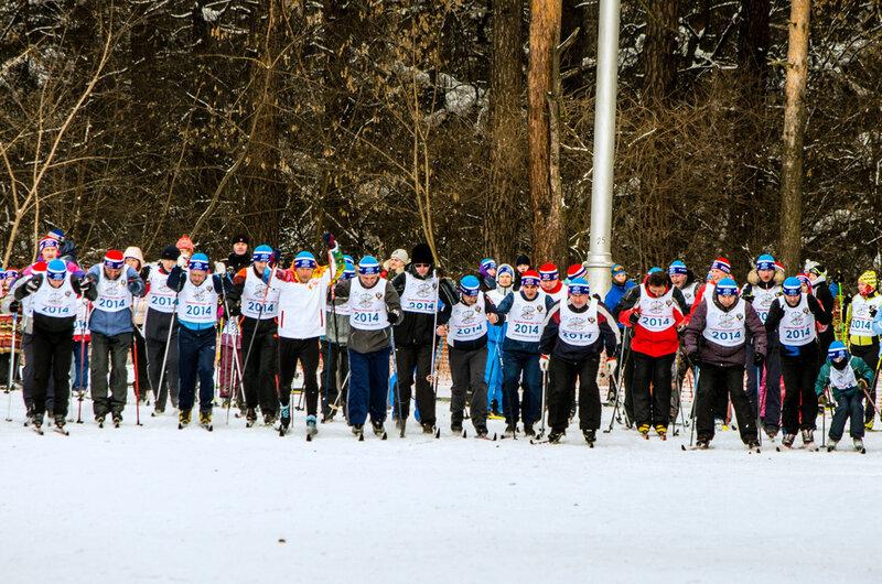 Лыжня России 2014