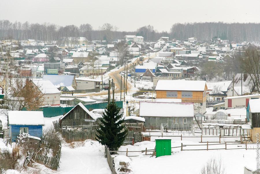 балыково зимой