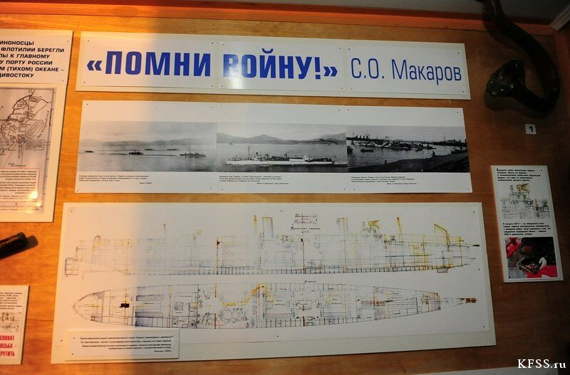 Музей Ворошиловская батарея на острове Русском