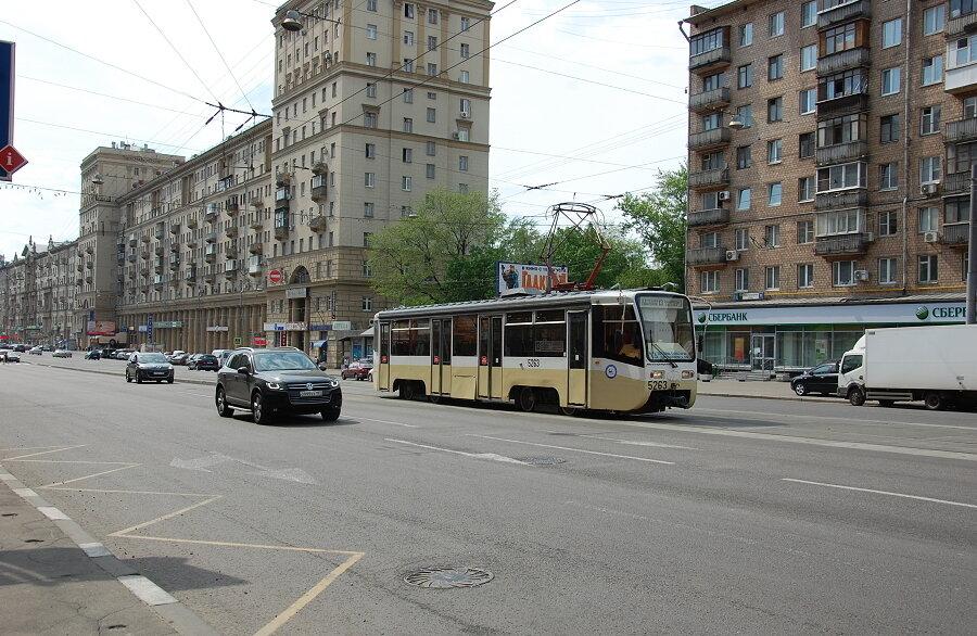 Улучшаем трамвайное движение в Москве (маршрут №13)