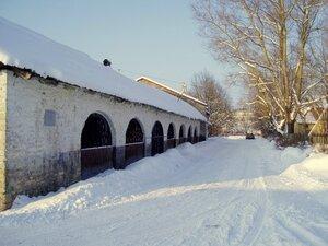 Усадьба Сельцо, бутовый амбар 1808 г.