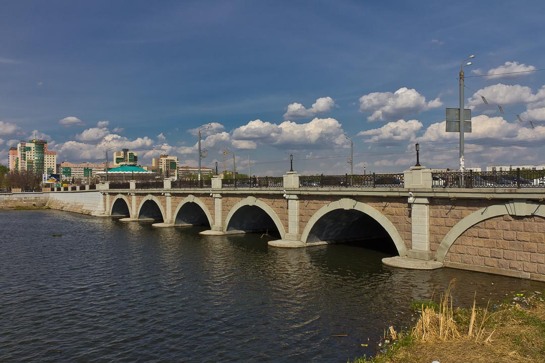 Кировский мост (он же Троицкий мост) (23.01.2014)