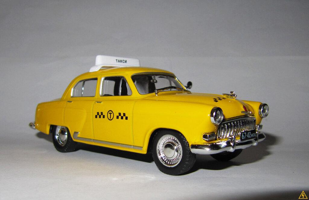 GAZ 21 Taxi Altaya/IXO