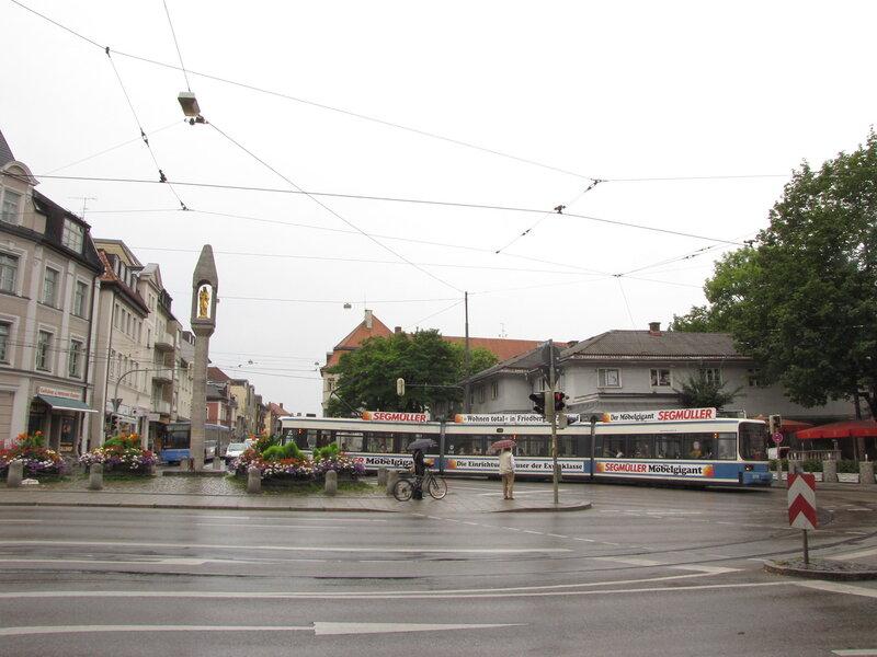 Раньше трамваи разворачивались