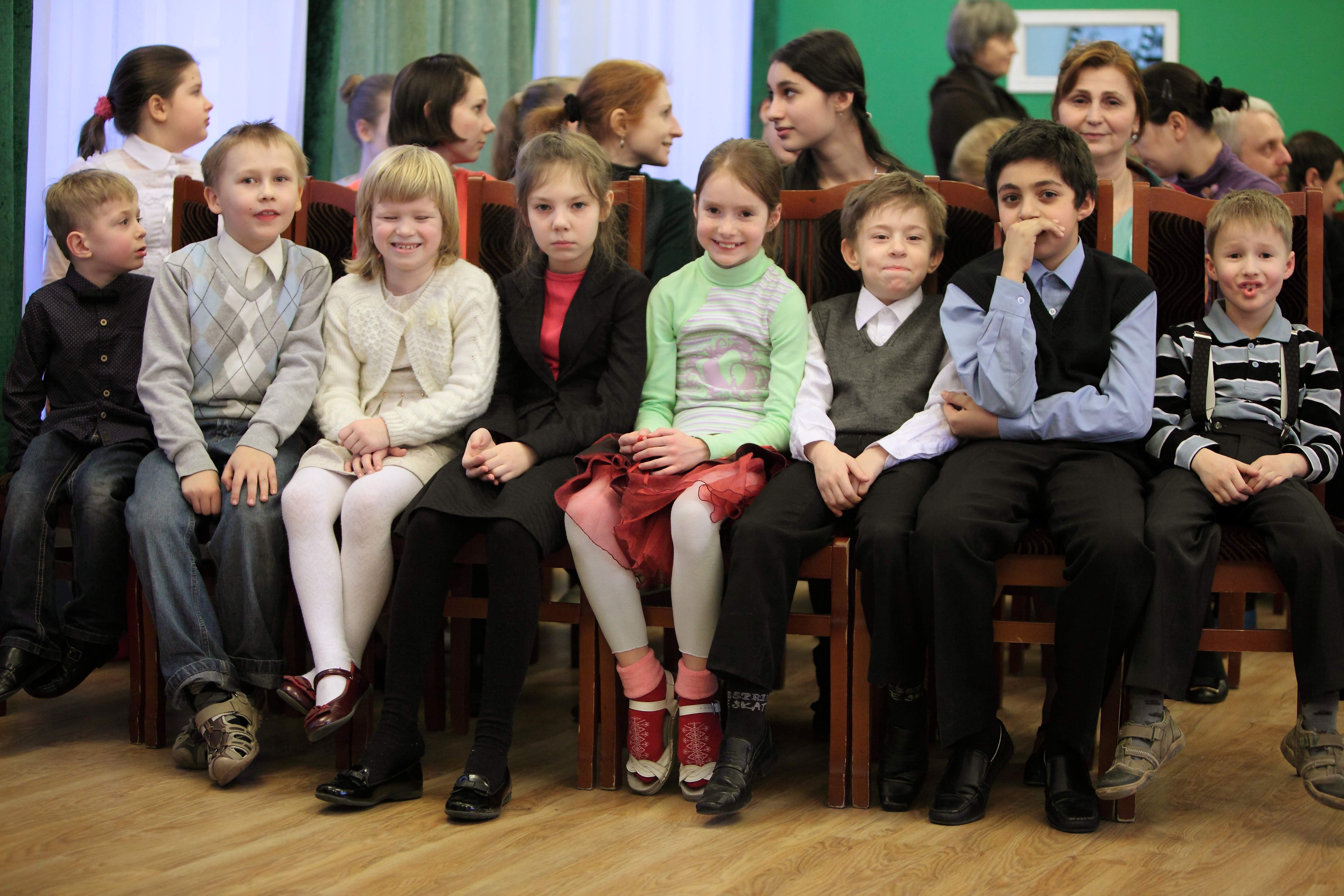 праздник в детском доме №59. Москва. 2014