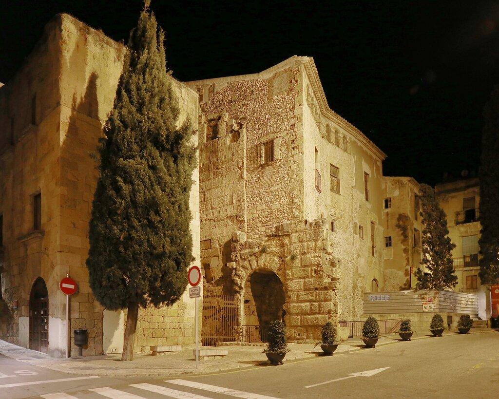 Таррагона. Старый город. Площадь Пальоль