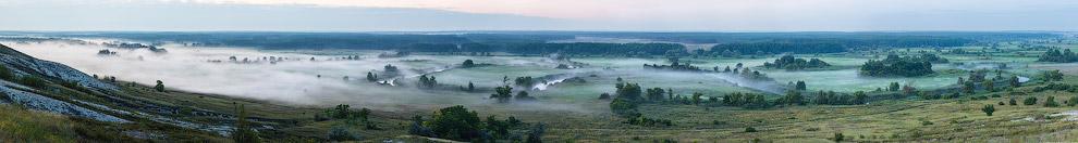 Панорама.   Кликабельно, 3670 х 681 px.   Также читайте статью « Страна туманов »