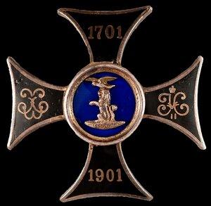 Знак 12-го уланского Белгородского Его Величества Императора Австрийского Короля Венгерского Франца Иосифа I полка.