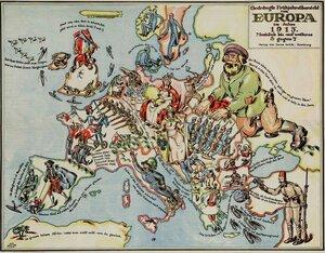 1915. «Краткий обзор Европы весной 1915 года», Гамбург