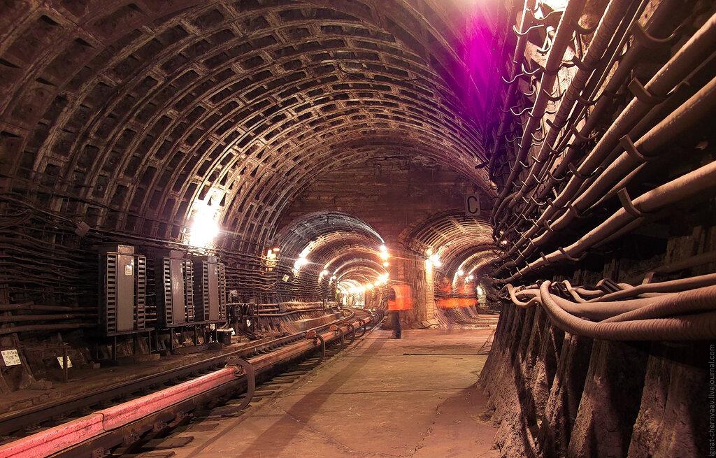 размыв метро петербург