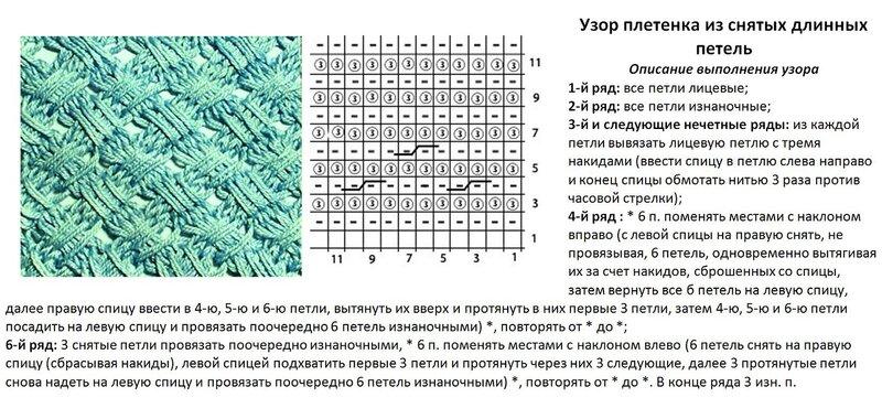 Диана схемы и узоры вязание спицами