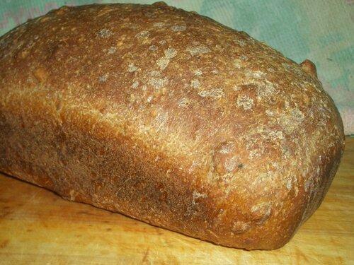 Орехово зерновой хлеб
