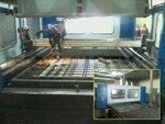 В производстве винтовых свай Геоэкосистем применяется лазерная резка металла и полуавтоматическая сварка