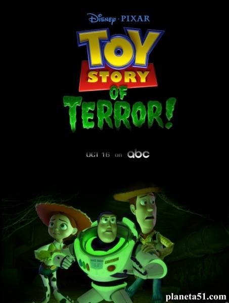 Игрушечная история террора / Toy Story of Terror (2013/HDTV/HDTVRip)