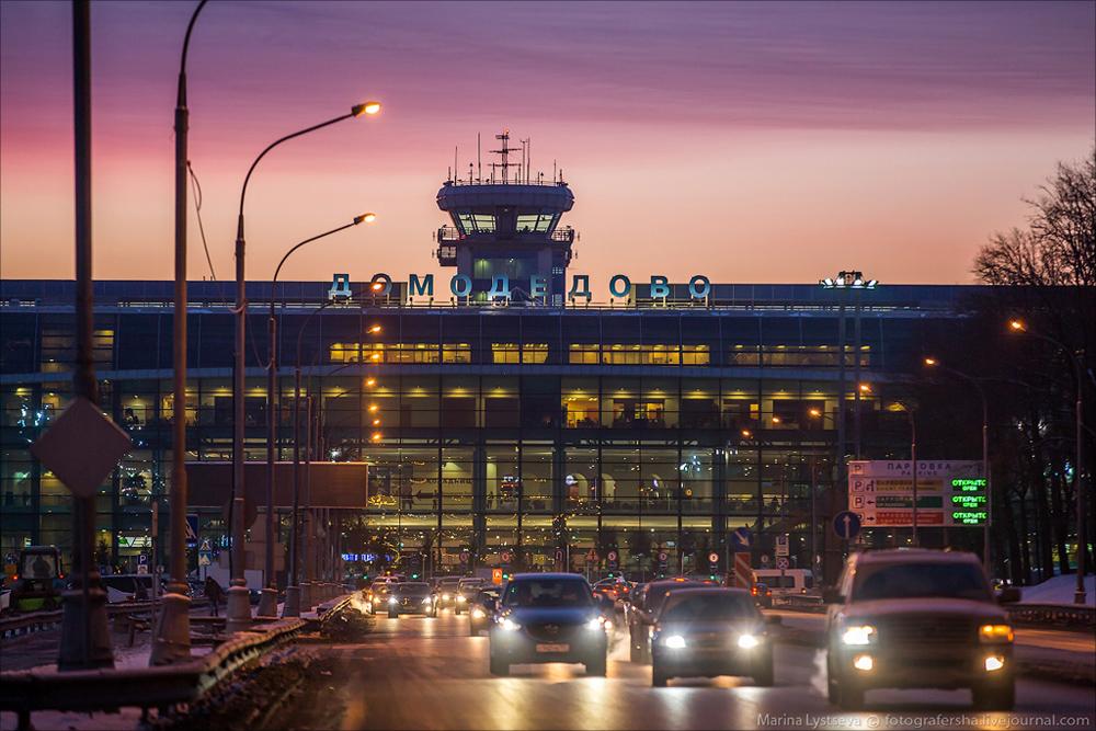 Споттинг в Домодедово 01.02.2014