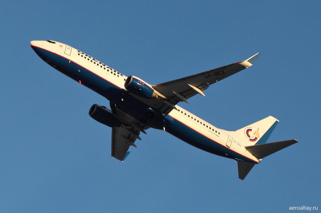 Рейс из Барнаула в Москву компании Orenair