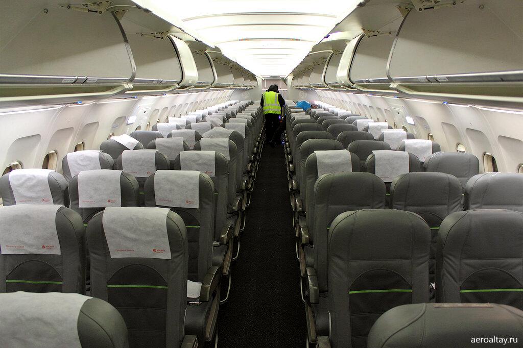 Салон для пассажиров экономического класса