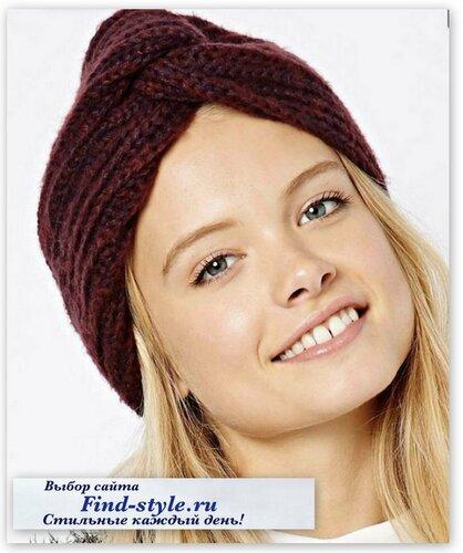 стильные женские шапки, ASOS Collection