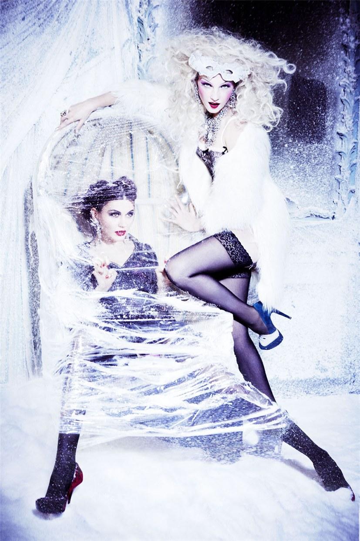 Snow Queen Vodka 2013 calendar by Ellen Von Unwerth