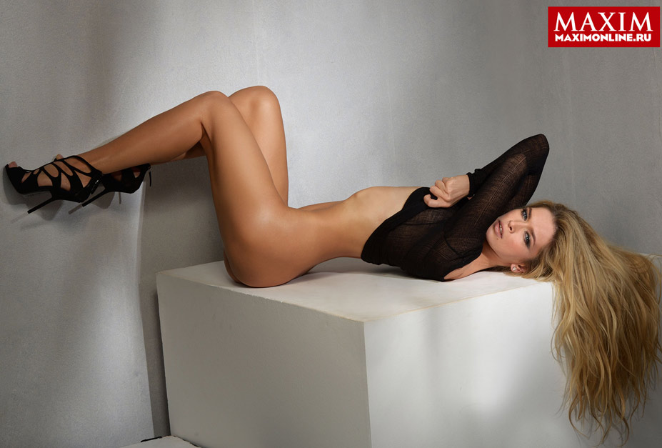 Вера Брежнева в журнале Maxim, январь 2014