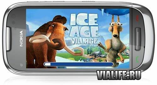Игра ICE AGE: VILLAGE для Nokia Symbian^1, Symbian^3, Anna, Belle