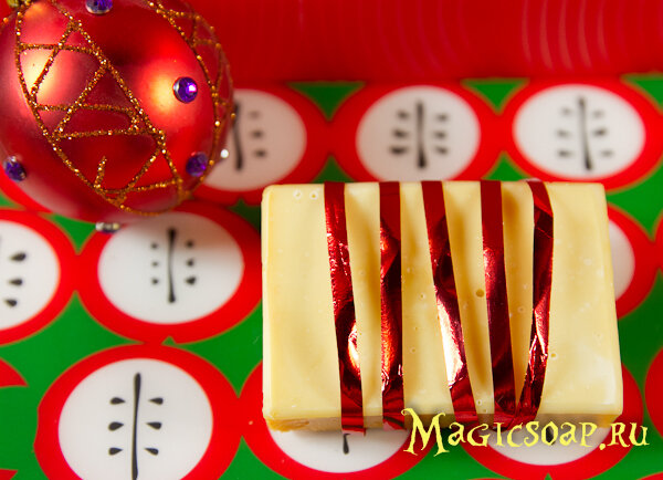 Кастильское мыло с нуля рецепт, новогоднее мыло, новогодний декор мыла, рецепт мыло с нуля, мыловарение с нуля