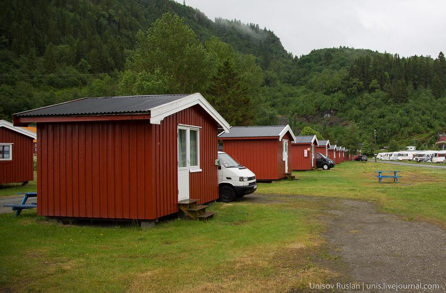 Кемпинги в Норвегии