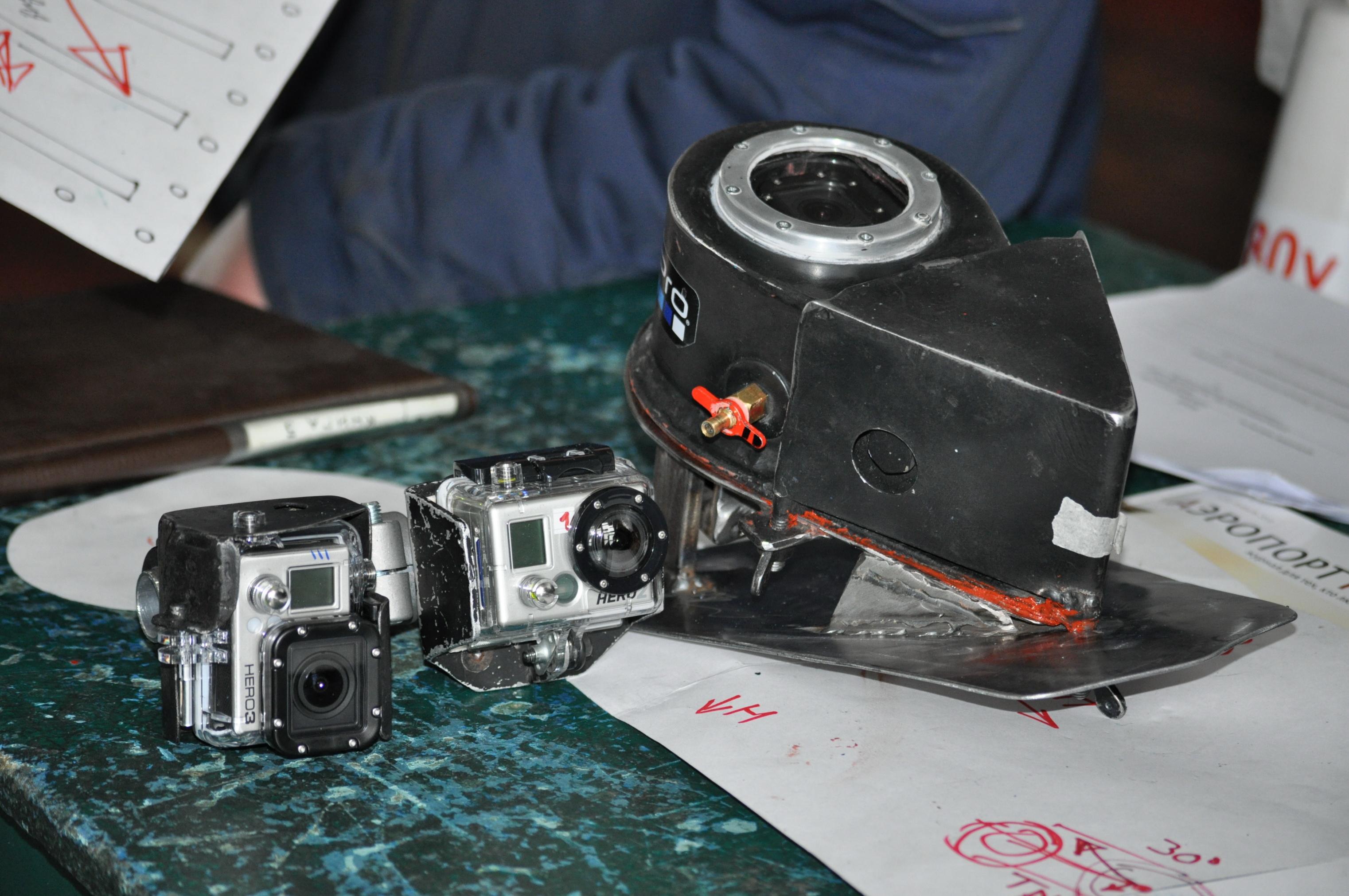 Видеорегистратор на истребителе МиГ-31