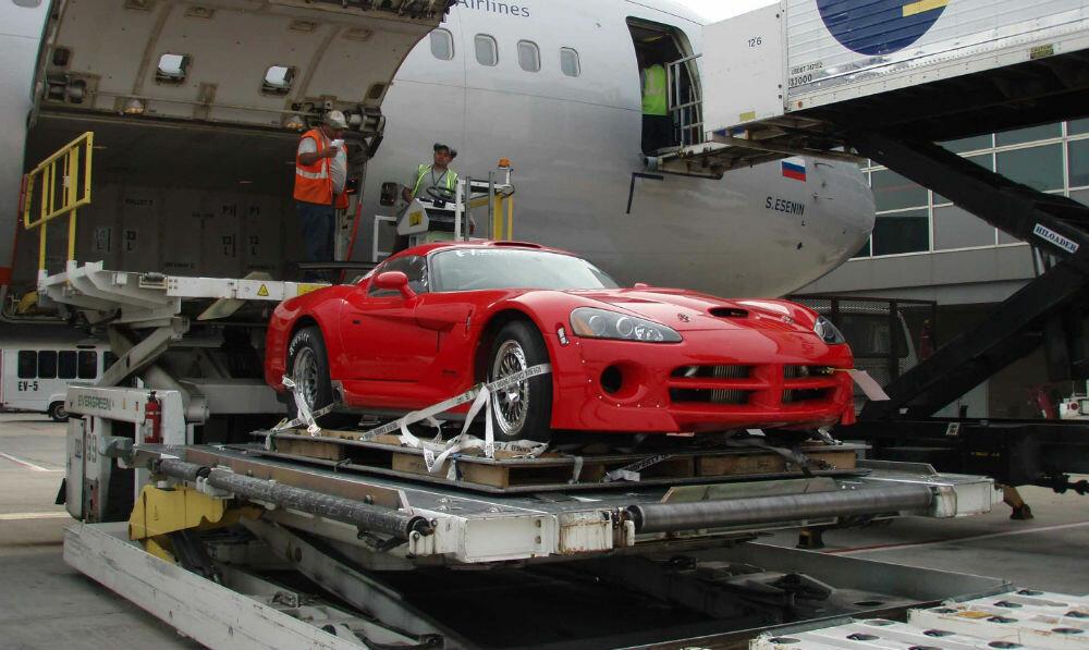 Авиаперевозка автомобиля