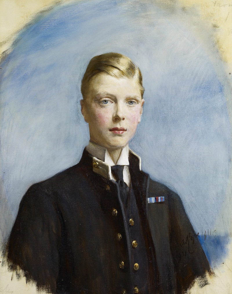 Sir Arthur Stockdale Cope (1857-1940)King Edward VIII (1894-1972) when Prince of Wales  Signed and dated 1911