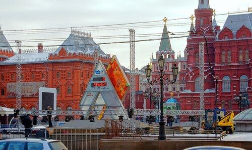 Предолимпийская Москва