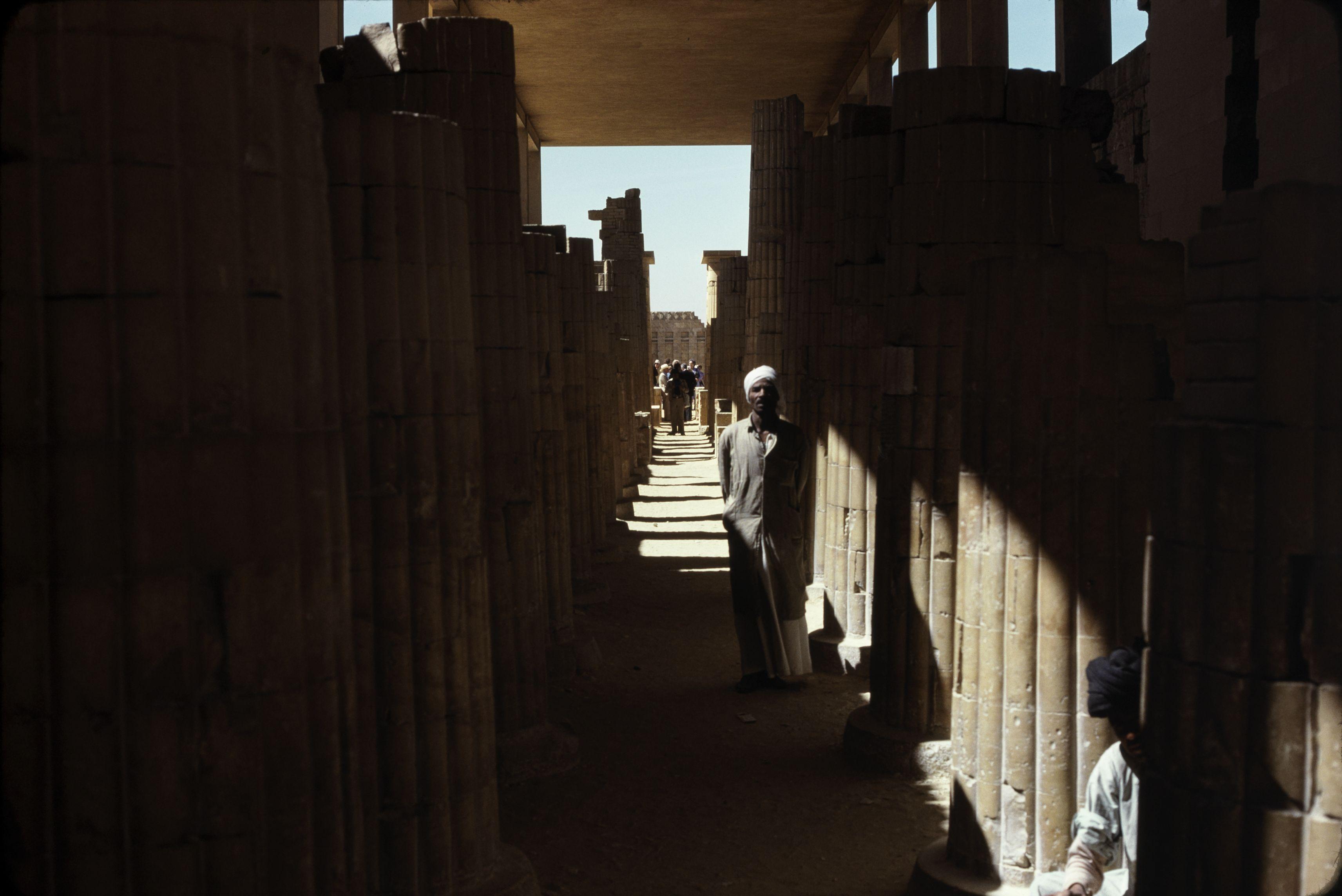 12. Саккара. Погребальный комплекс Джосера