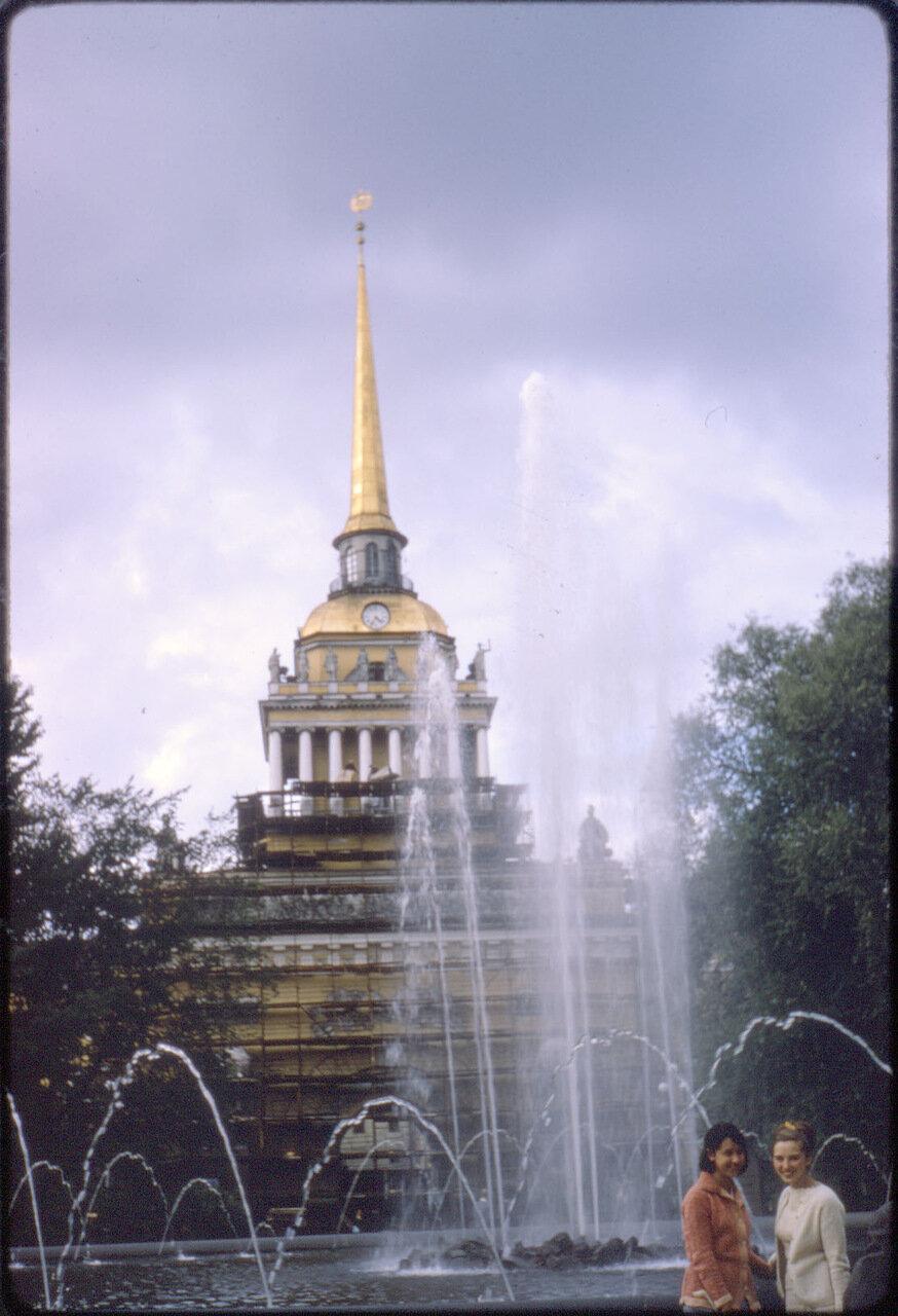 Парк возле Адмиралтейства