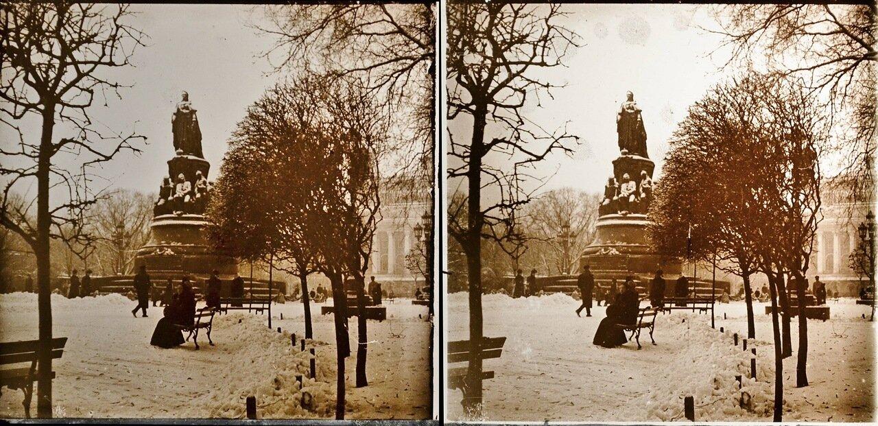 Санкт-Петербург. Памятник Екатерине II