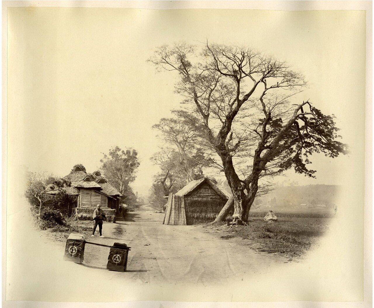 Окрестности Камакуры, где были убиты майор Болдуин и лейтенант Берд
