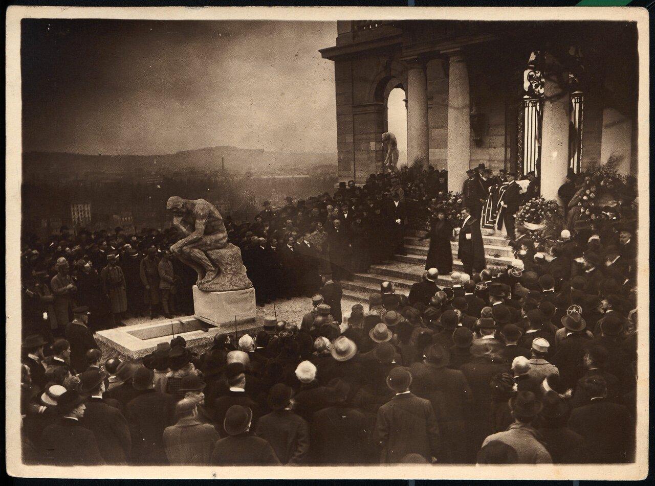 Похороны Огюста Родена в Мёдоне. 24.11.17