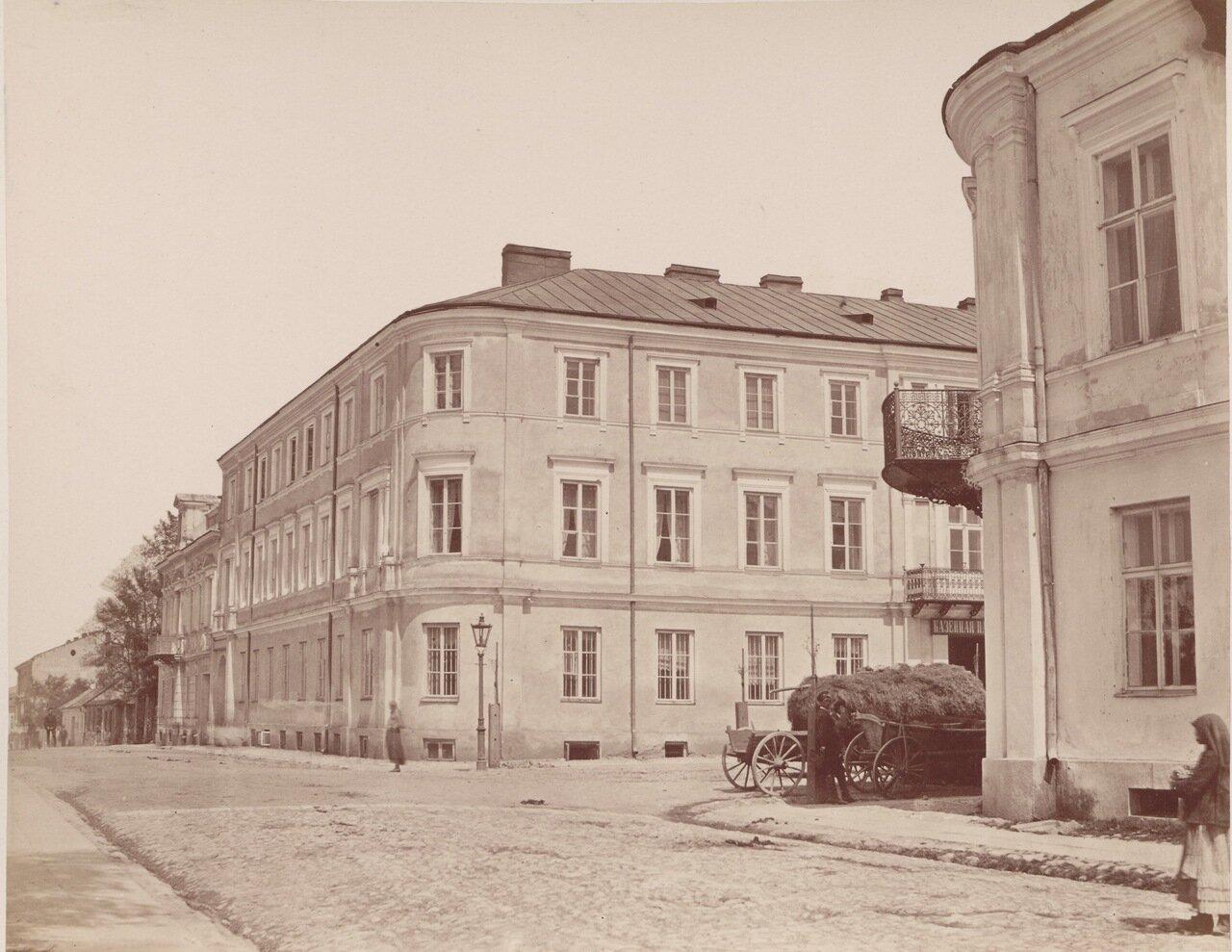 Налоговая палата в Кельце и Константиновская улица