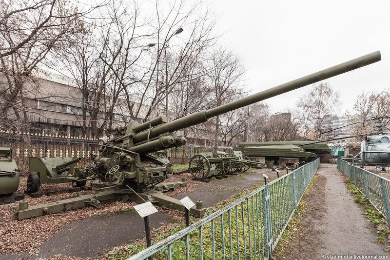 Трофейная 105 мм. немецкая зенитная пушка Flack-39