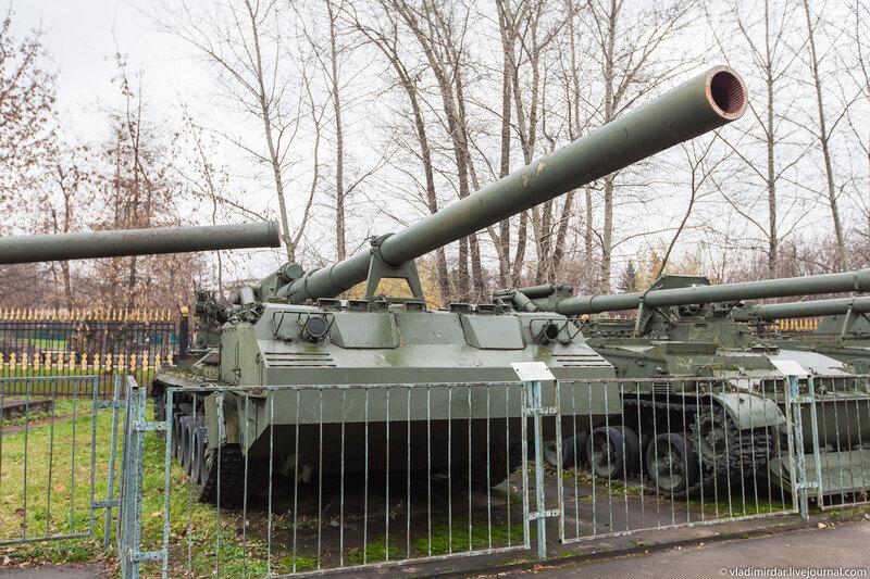 Самоходная артиллерийская установка 2С7 «Пион»