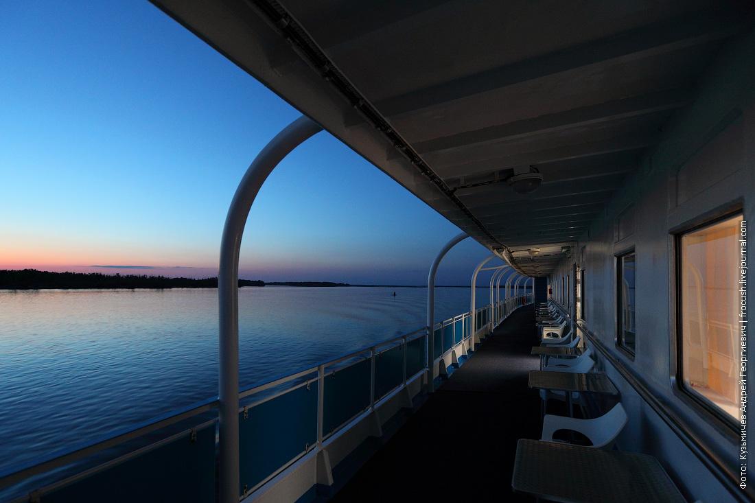 ночная нижняя Волга