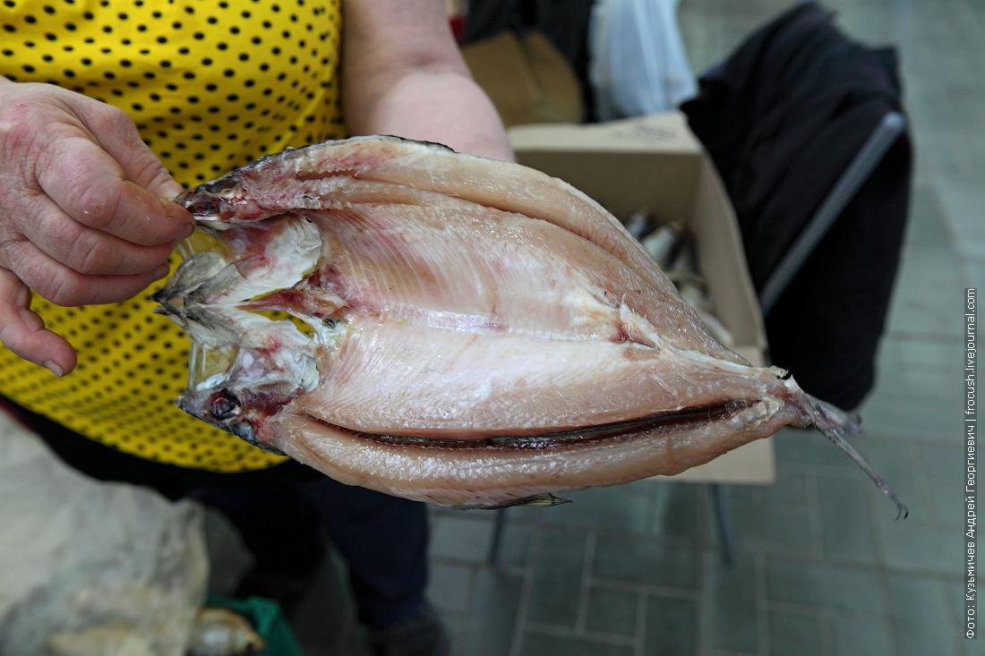 Астраханский рыбный рынок селедка