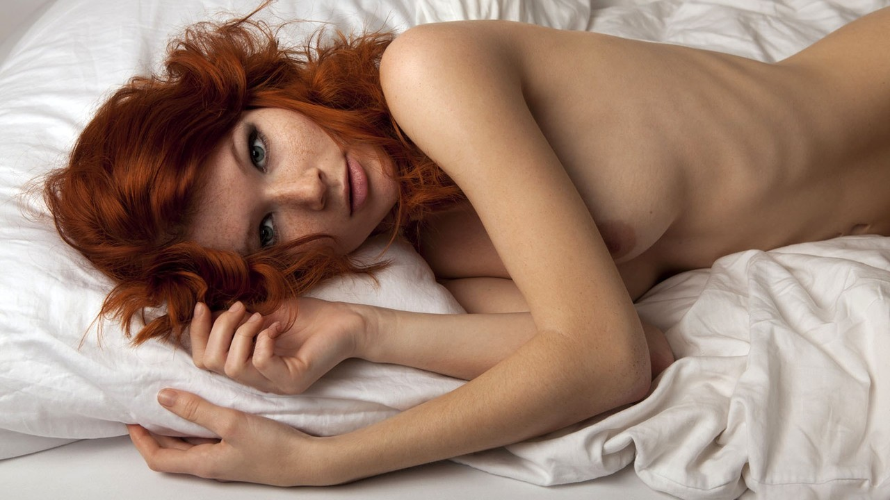 Фотосессия рыжей девушки эротика 16 фотография