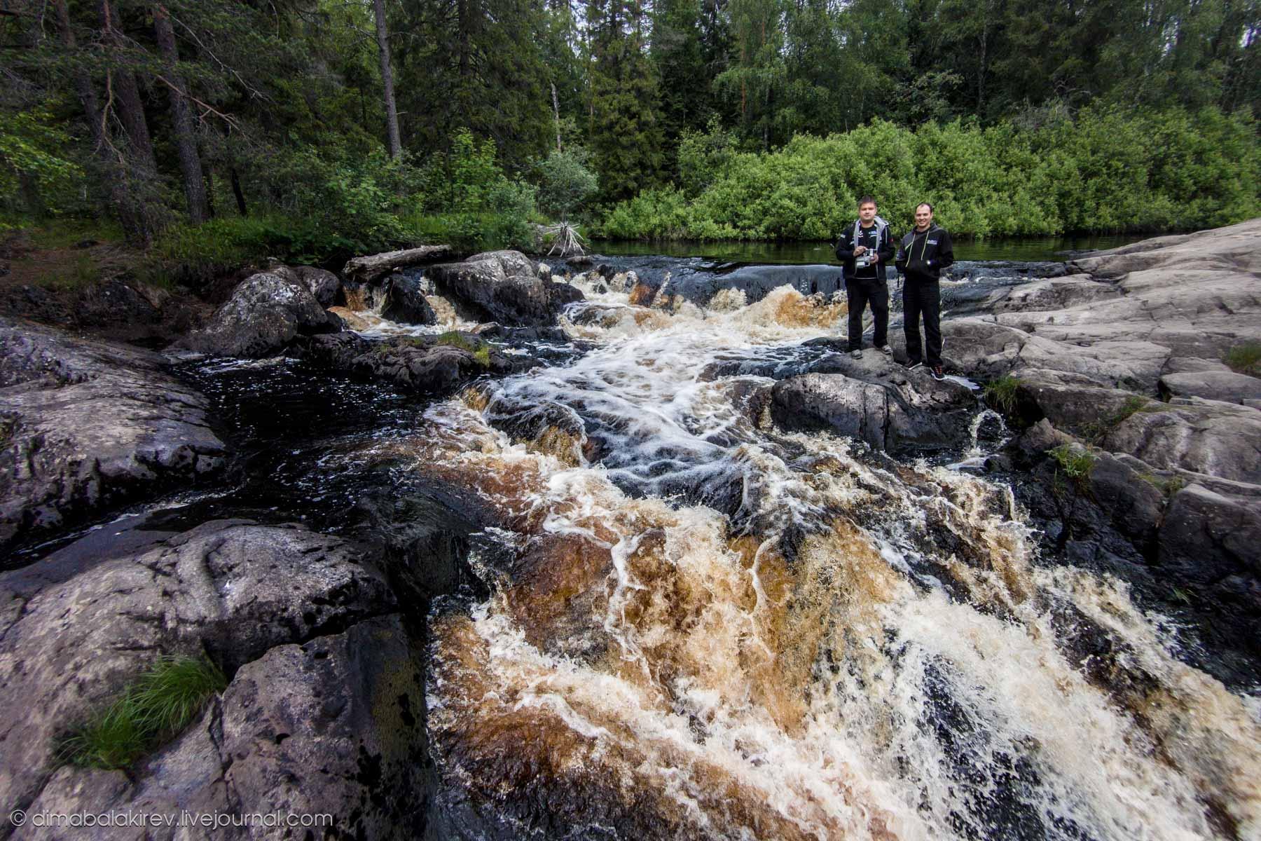 Водопады Рускеалы