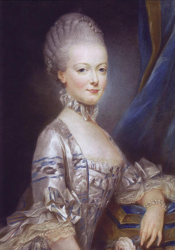 Эрцгерцогиня Мария-Антуанетта, будущая королева Франции, 1769__Archduchess Maria Antonia of Austria, the later Queen Marie Antoinette of France