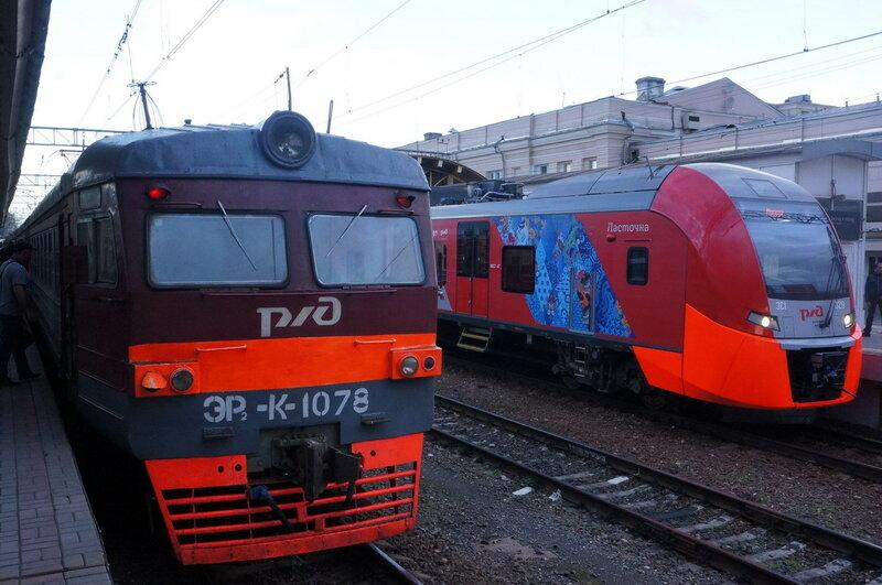 Siemens desiro rus
