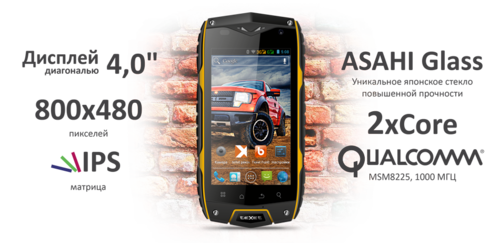 Texet TM-4104R X-Driver (дисплей)