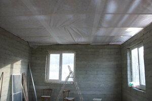 пароизоляция на потолок дома фото