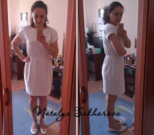 Как сшить самой платье из льна