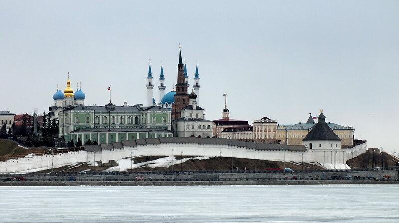 Панорама г.Казань.