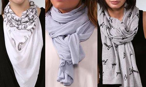 Несколько способов красиво завязать шарф